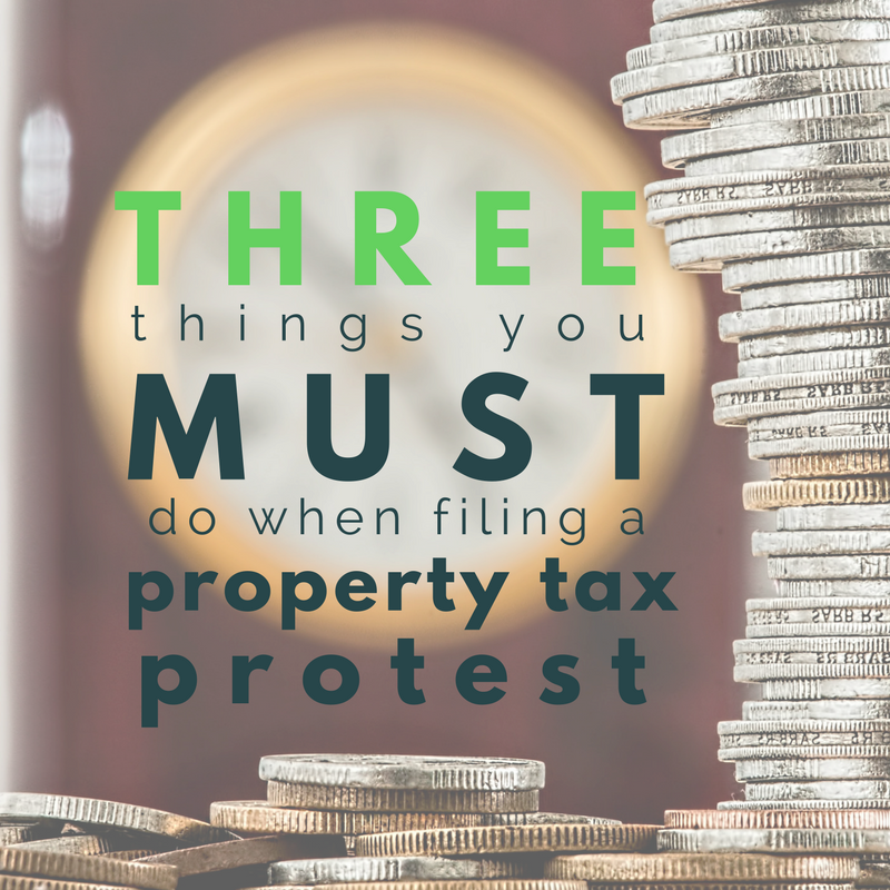 Property Tax Appeal- 3 Things You Must Do When Filing Your Appeal